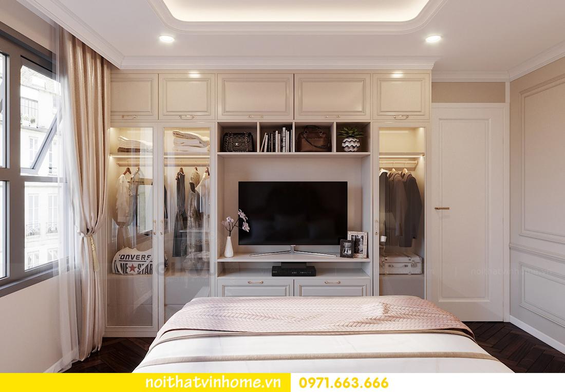 thiết kế nội thất chung cư DCapitale 3 phòng ngủ nhà chị Hằng 06