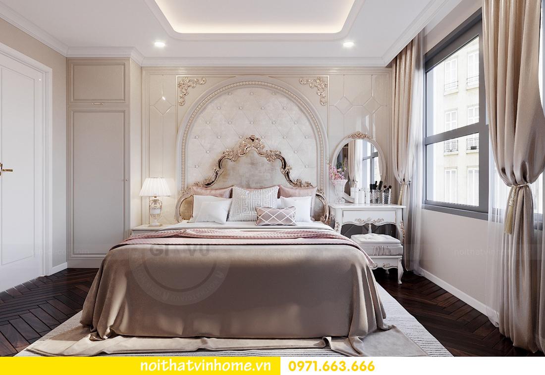thiết kế nội thất chung cư DCapitale 3 phòng ngủ nhà chị Hằng 07
