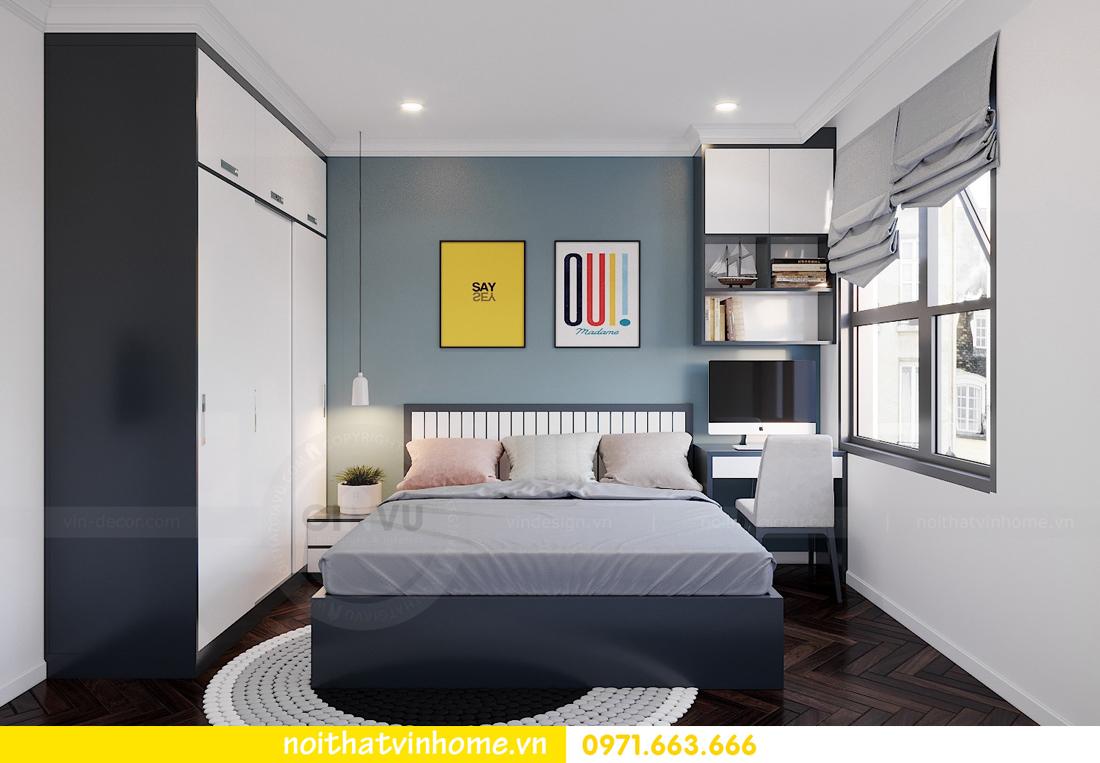 thiết kế nội thất chung cư DCapitale 3 phòng ngủ nhà chị Hằng 10