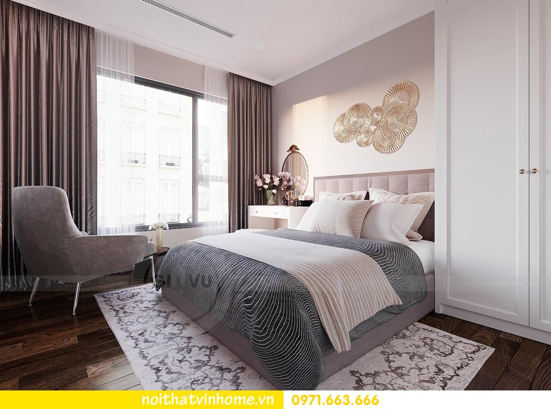 thiết kế nội thất chung cư Sunshine Riverside căn hộ 3 phòng ngủ 10