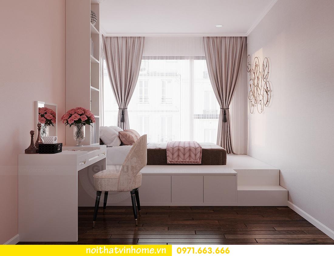thiết kế nội thất chung cư Sunshine Riverside căn hộ 3 phòng ngủ 11
