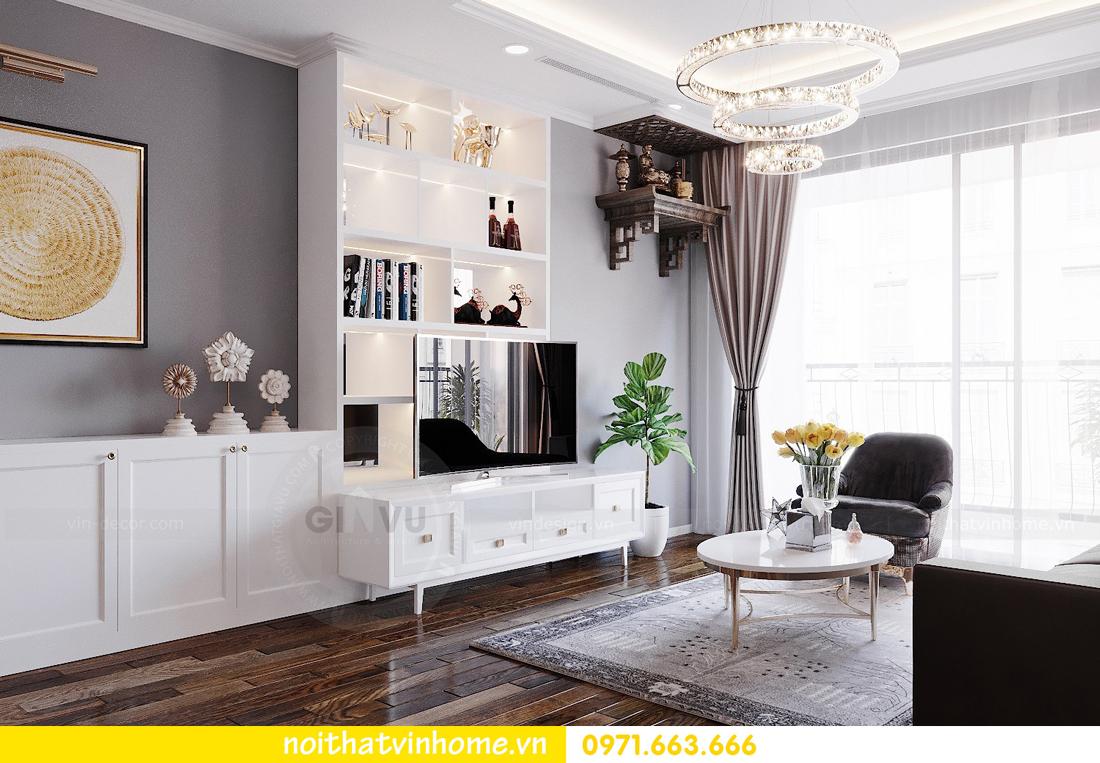 thiết kế nội thất chung cư Sunshine Riverside căn hộ 3 phòng ngủ 5