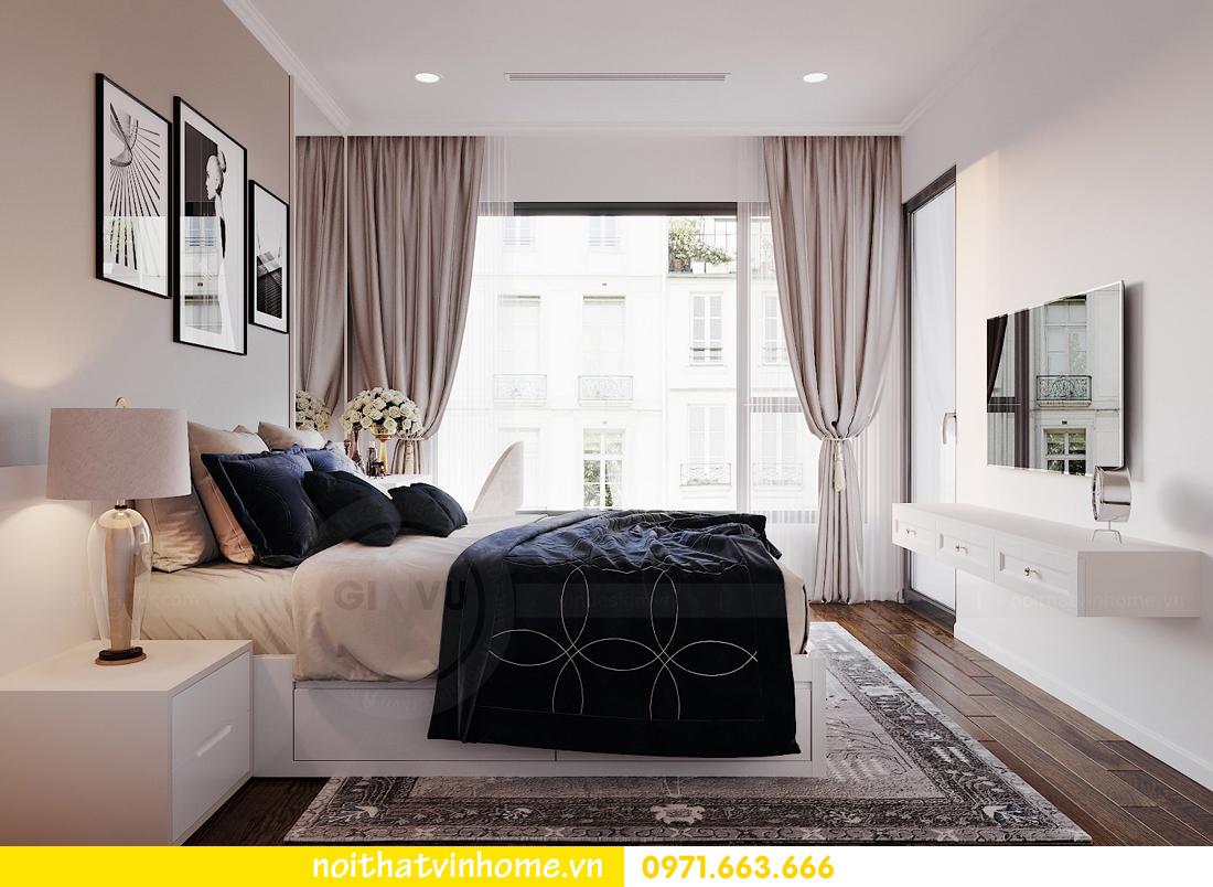 thiết kế nội thất chung cư Sunshine Riverside căn hộ 3 phòng ngủ 8