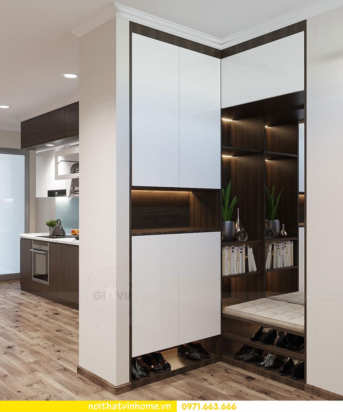 thiết kế nội thất tại chung cư Park Hill tòa P7 căn 12 - anh Điệp 01