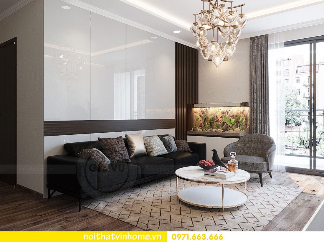 thiết kế nội thất tại chung cư Park Hill tòa P7 căn 12 - anh Điệp 02