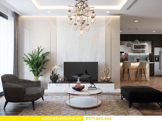 thiết kế nội thất tại chung cư Park Hill tòa P7 căn 12 - anh Điệp 03