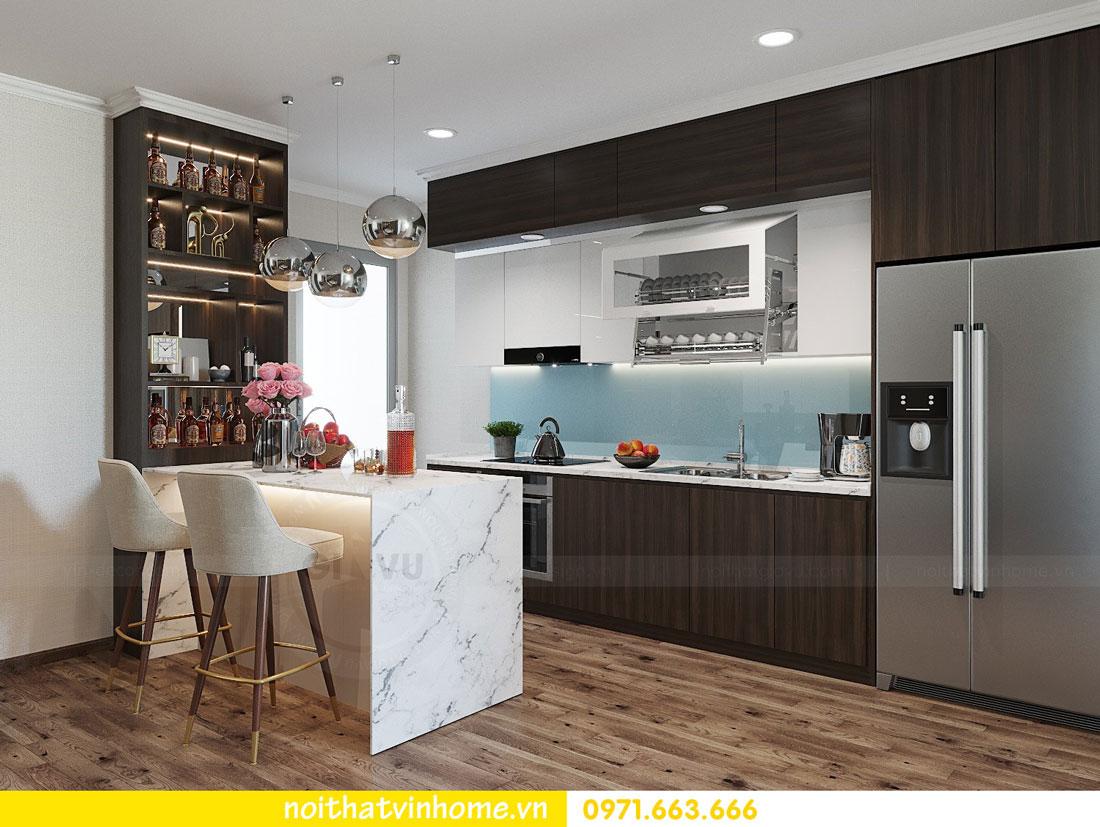 thiết kế nội thất tại chung cư Park Hill tòa P7 căn 12 - anh Điệp 06