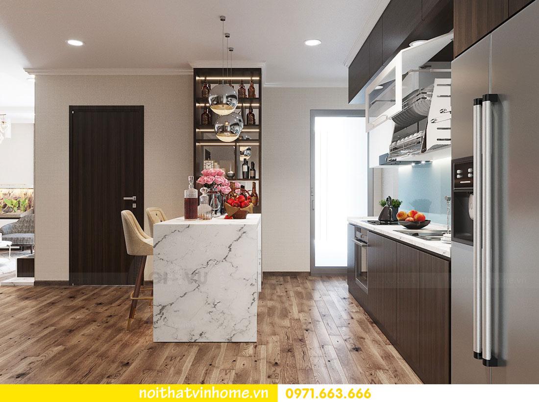thiết kế nội thất tại chung cư Park Hill tòa P7 căn 12 - anh Điệp 07