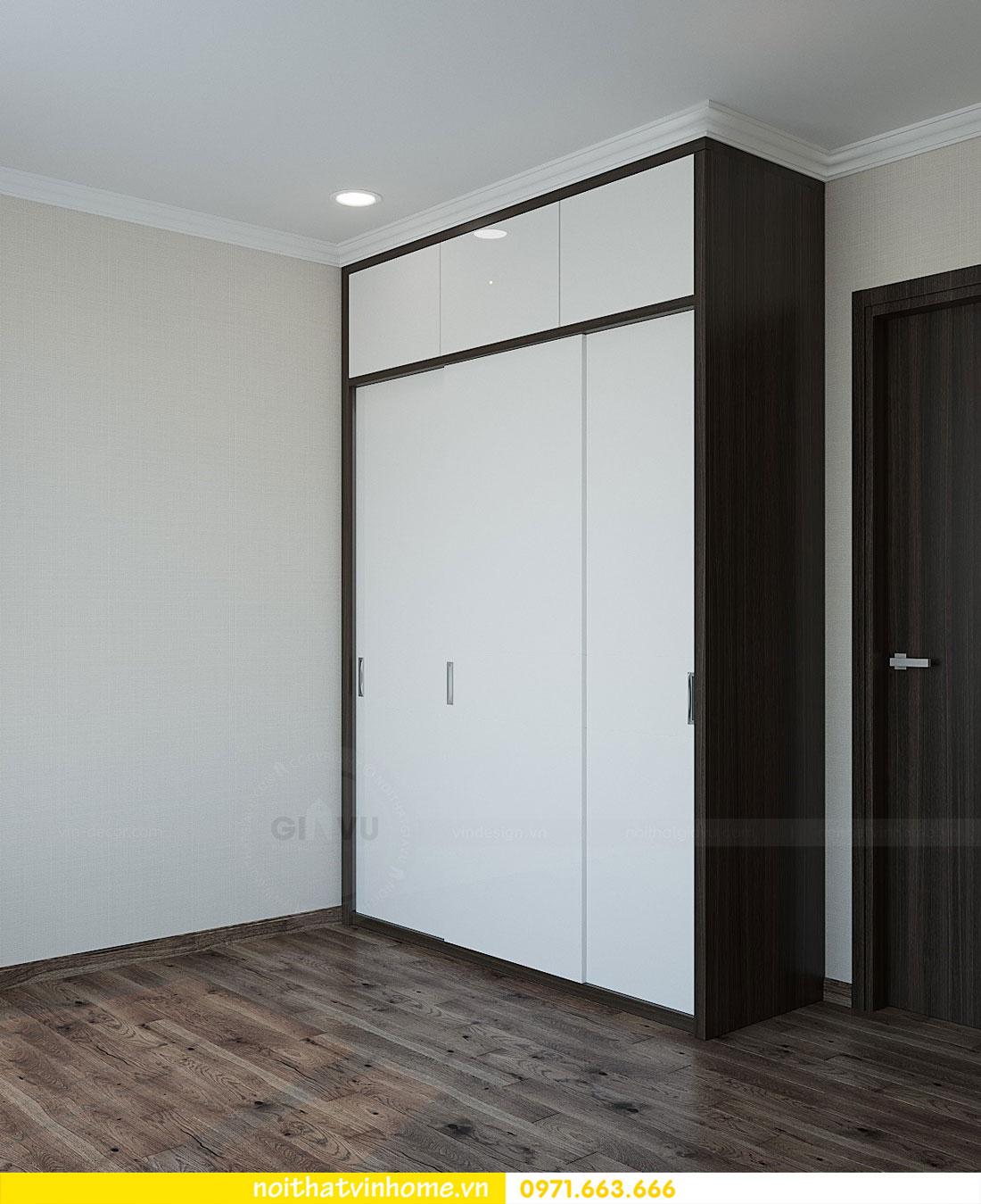 thiết kế nội thất tại chung cư Park Hill tòa P7 căn 12 - anh Điệp 12