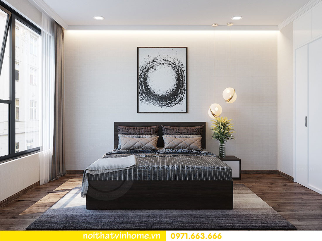 thiết kế nội thất tại chung cư Park Hill tòa P7 căn 12 - anh Điệp 13