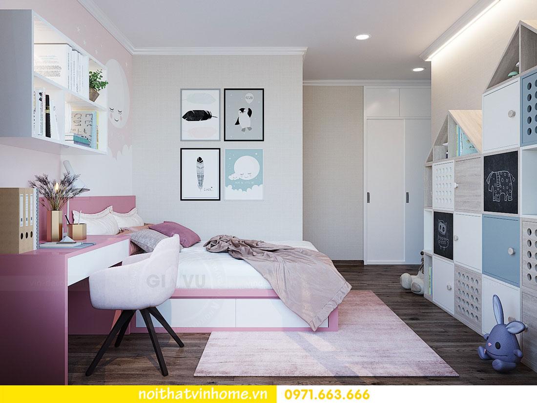 thiết kế nội thất tại chung cư Park Hill tòa P7 căn 12 - anh Điệp 14