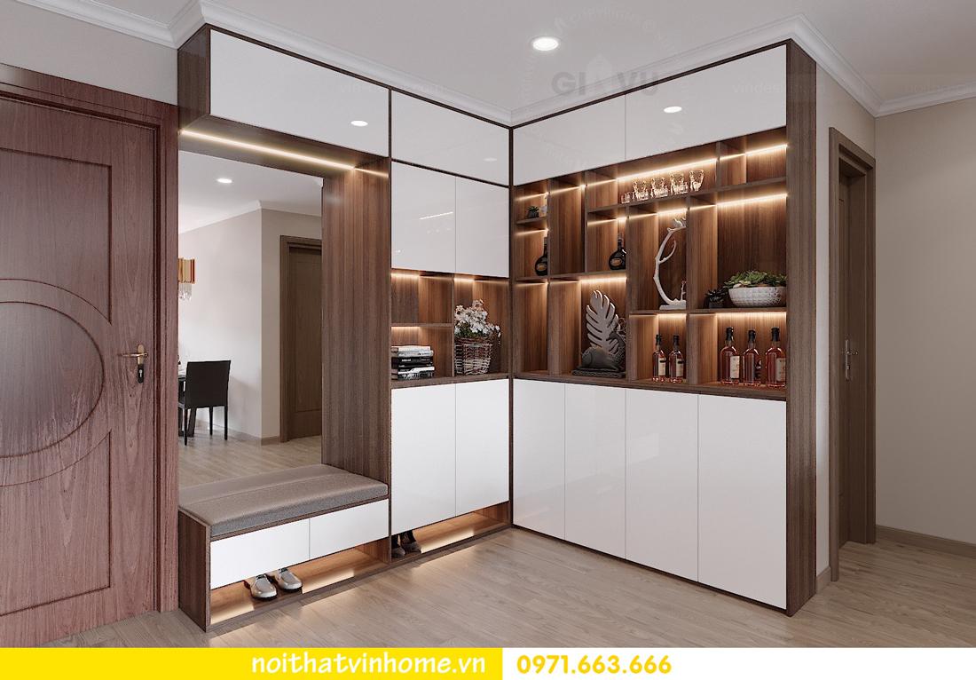 thiết kế nội thất tại Vinhomes Park Hill căn hộ 3 phòng ngủ 01