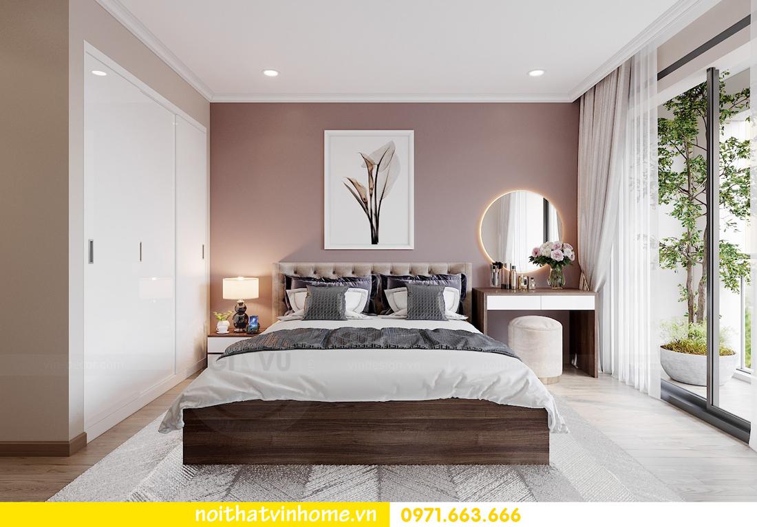 thiết kế nội thất tại Vinhomes Park Hill căn hộ 3 phòng ngủ 05