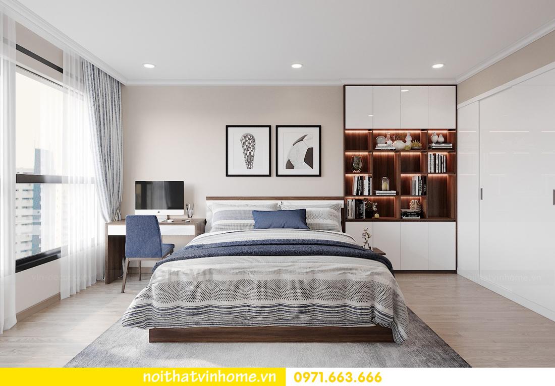 thiết kế nội thất tại Vinhomes Park Hill căn hộ 3 phòng ngủ 07