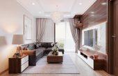 thiết kế nội thất tại Vinhomes Park Hill căn hộ 3 phòng ngủ