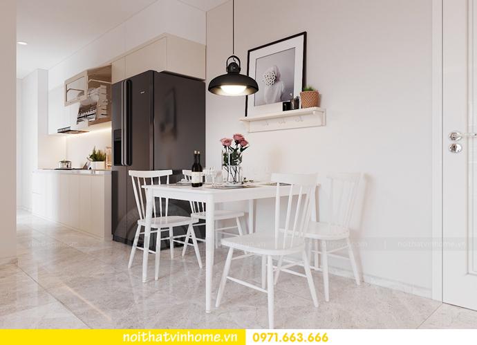 thiết kế nội thất theo phong cách Bắc Âu tại chung cư DCapitale 1