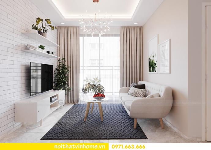 thiết kế nội thất theo phong cách Bắc Âu tại chung cư DCapitale 3