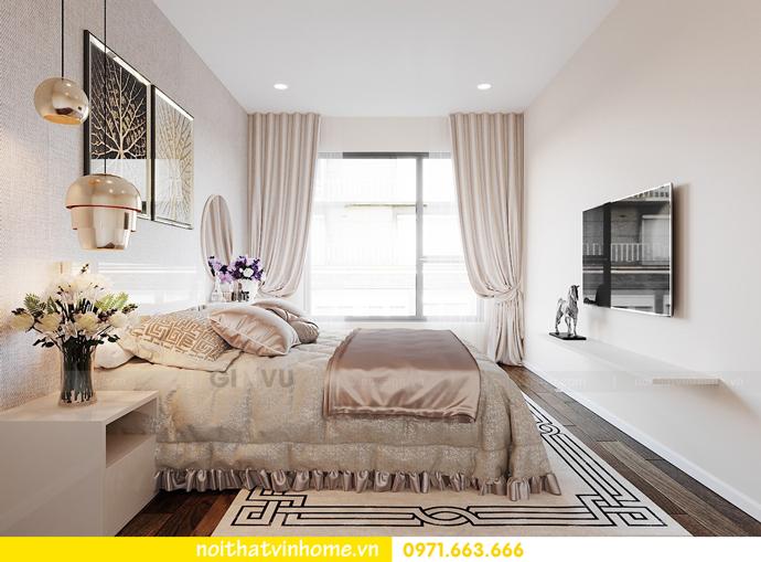 thiết kế nội thất theo phong cách Bắc Âu tại chung cư DCapitale 5