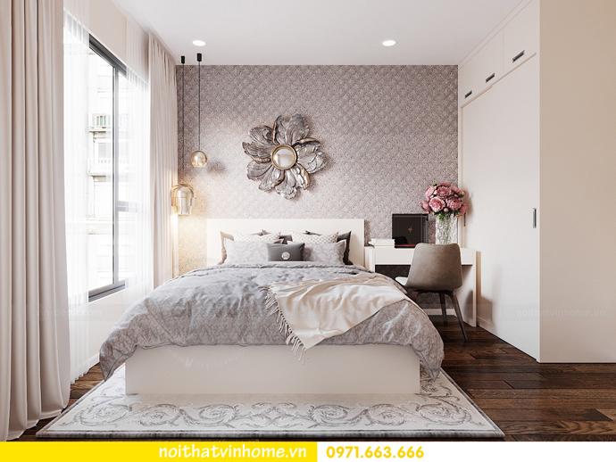 thiết kế nội thất theo phong cách Bắc Âu tại chung cư DCapitale 6