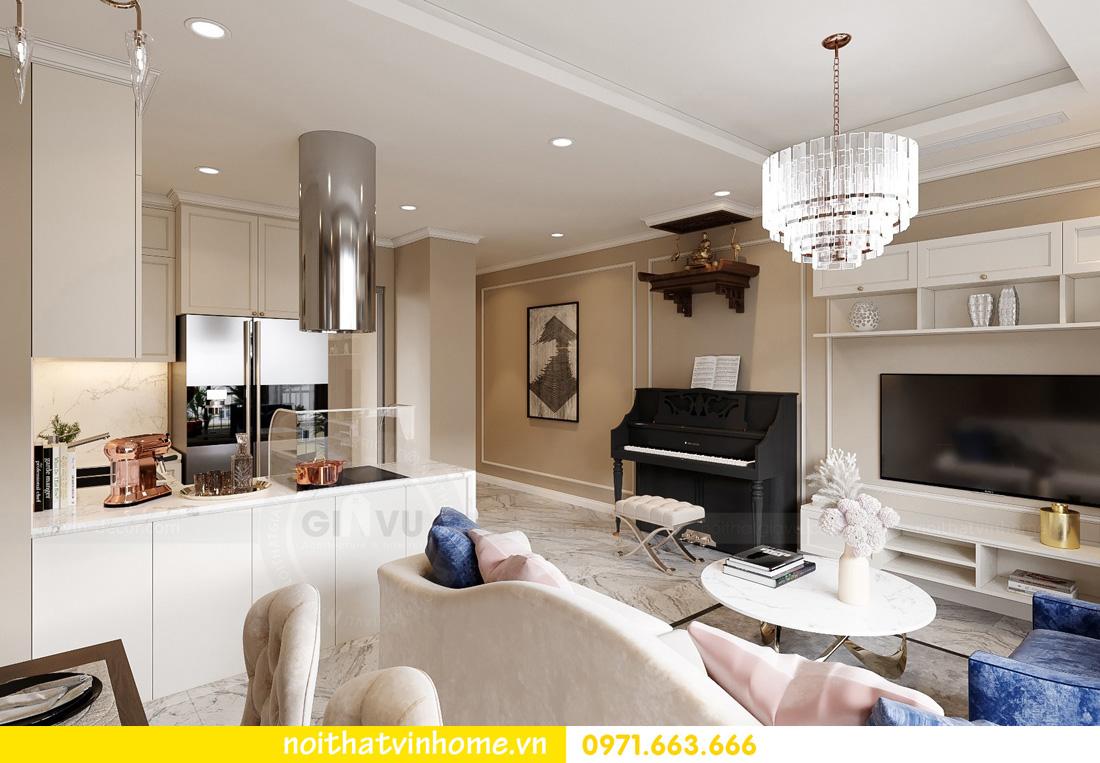 thiết kế nội thất căn hộ Vinhomes West Point 3 phòng ngủ 03