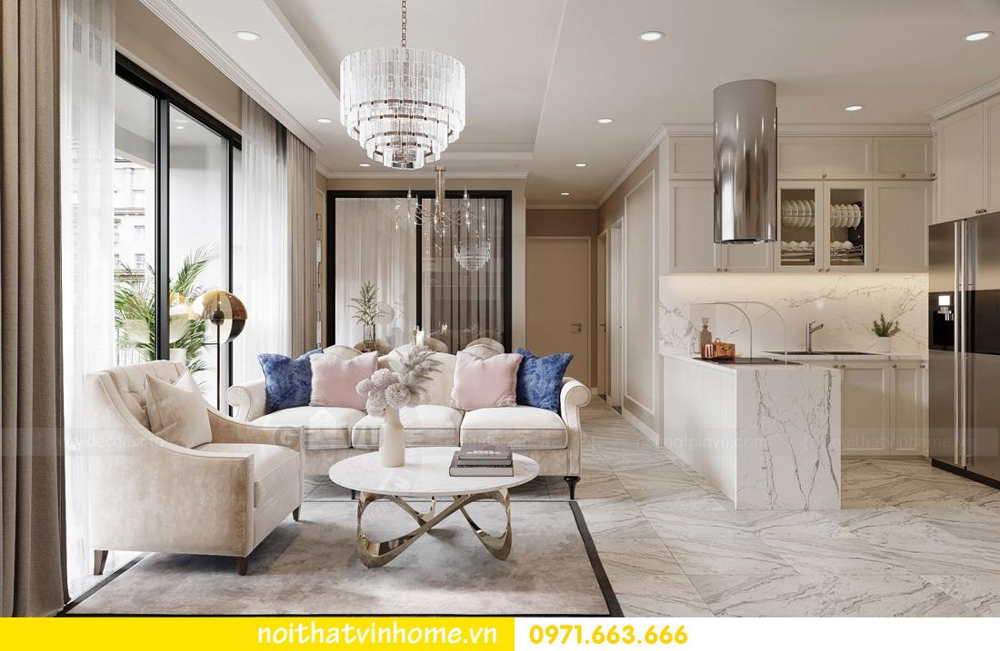 thiết kế nội thất căn hộ Vinhomes West Point 3 phòng ngủ 04