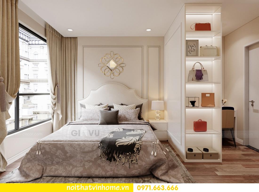 thiết kế nội thất căn hộ Vinhomes West Point 3 phòng ngủ 07