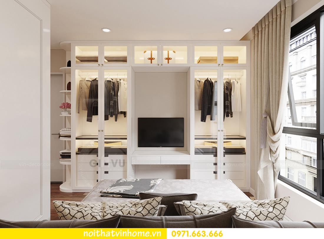thiết kế nội thất căn hộ Vinhomes West Point 3 phòng ngủ 08