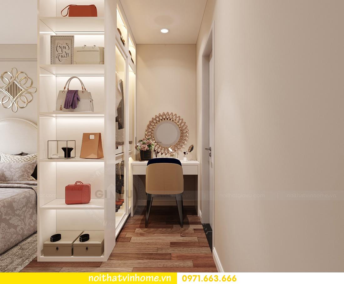 thiết kế nội thất căn hộ Vinhomes West Point 3 phòng ngủ 09