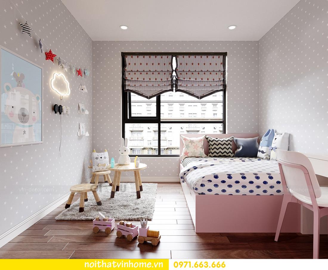thiết kế nội thất căn hộ Vinhomes West Point 3 phòng ngủ 12