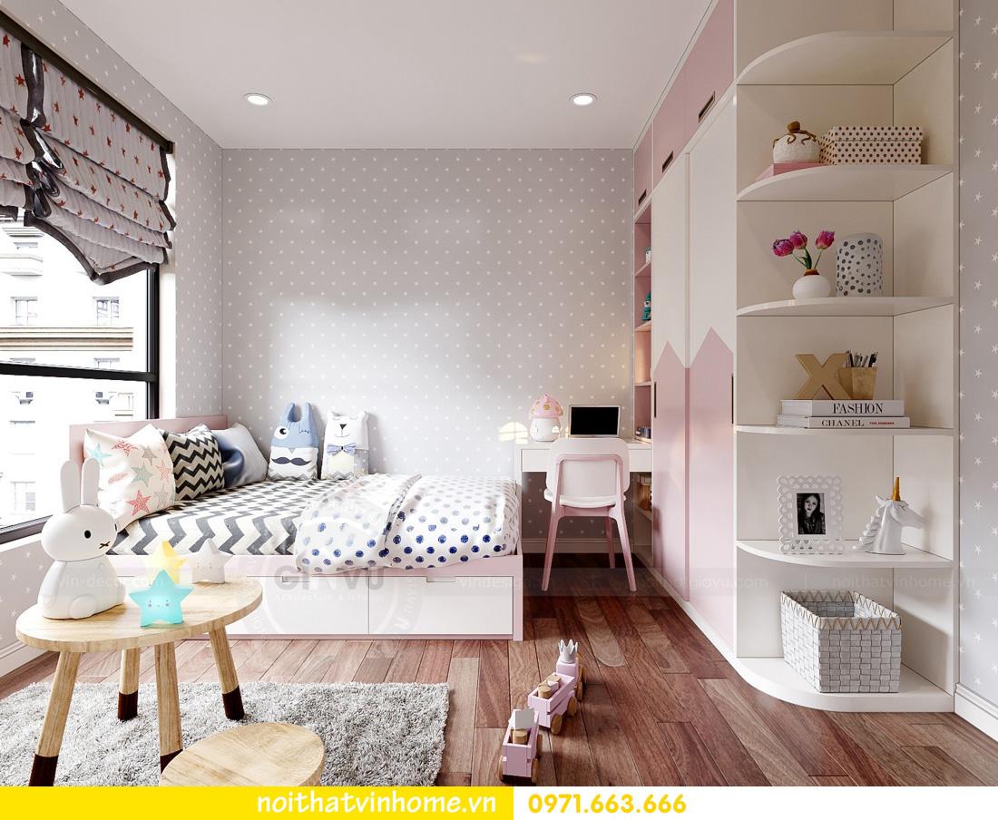 thiết kế nội thất căn hộ Vinhomes West Point 3 phòng ngủ 13