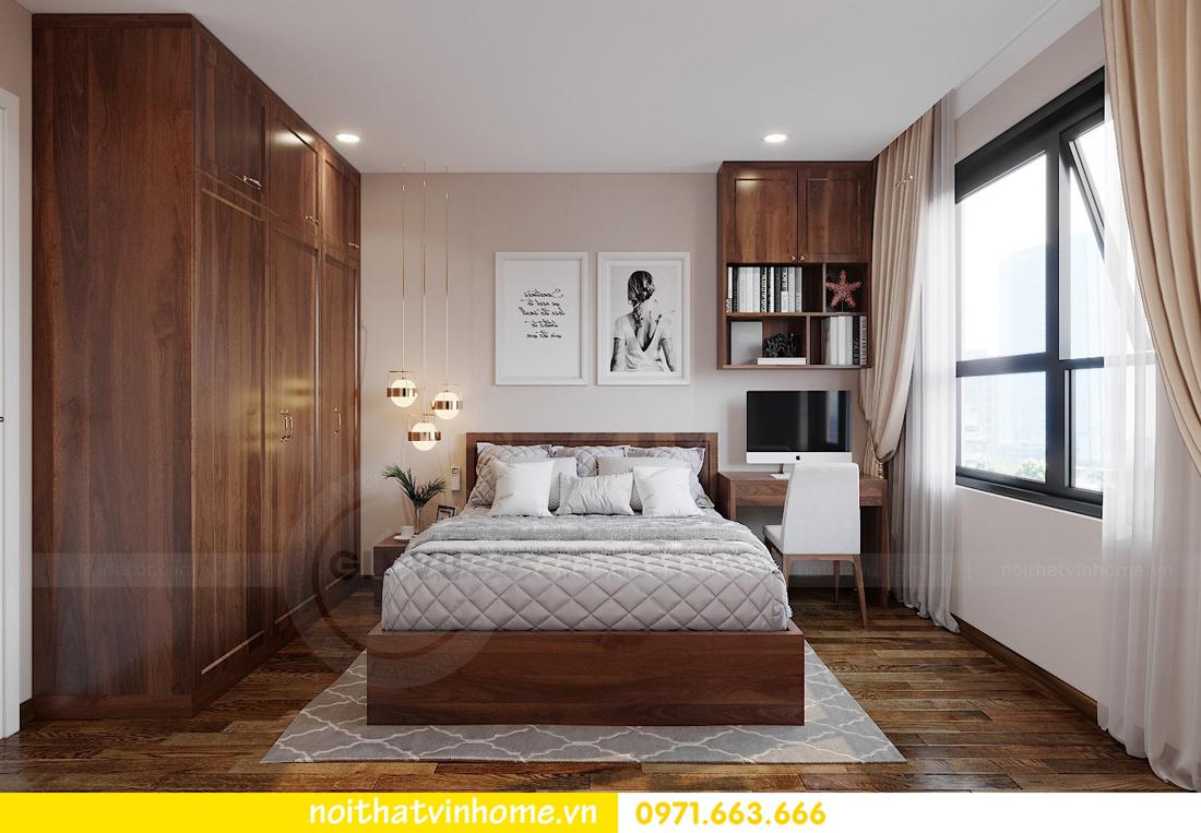 thiết kế nội thất chung cư Vinhomes Ocean Park căn hộ 2 phòng ngủ 6