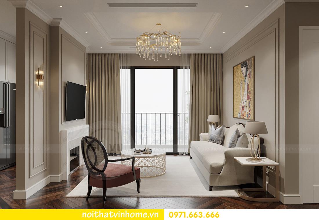 thiết kế nội thất chung cư Vinhomes West Point tòa w3 căn 05A anh Hà 03