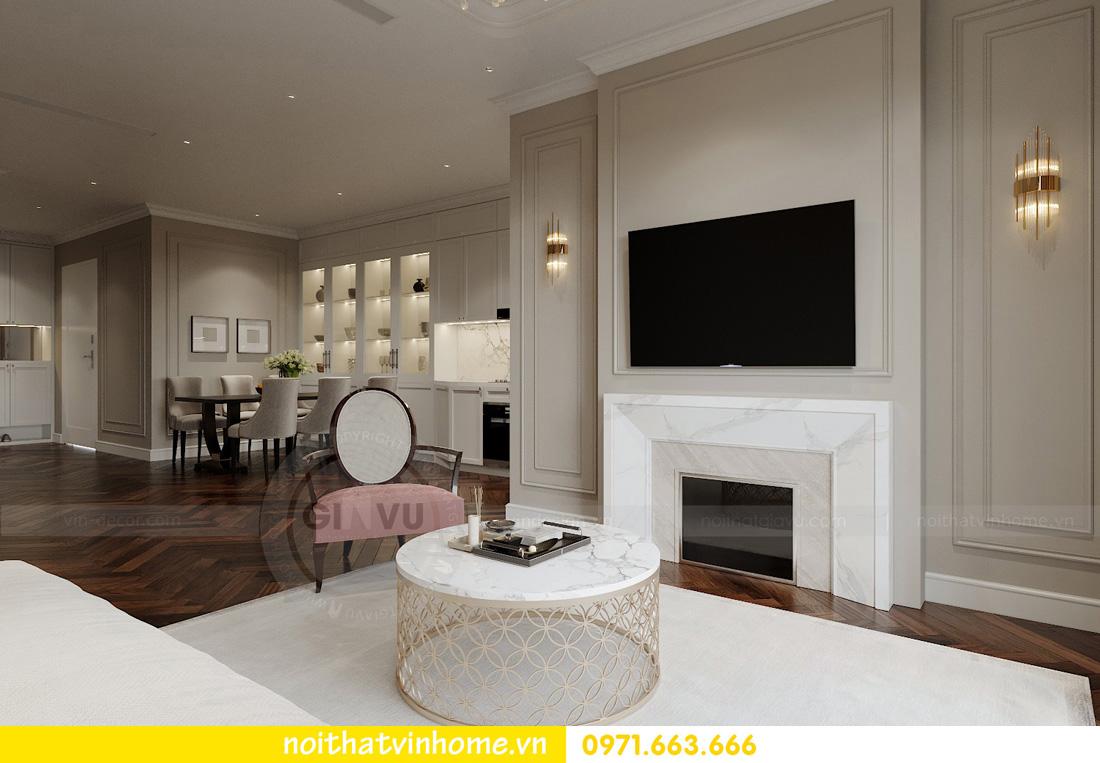 thiết kế nội thất chung cư Vinhomes West Point tòa w3 căn 05A anh Hà 04