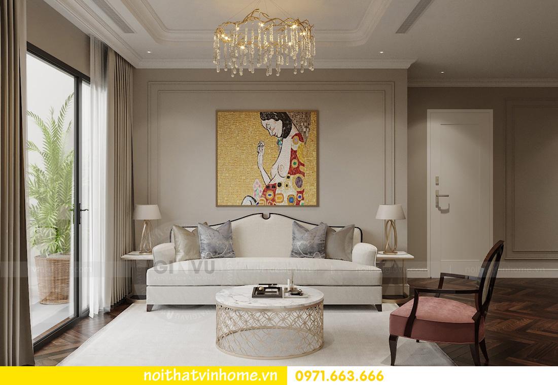 thiết kế nội thất chung cư Vinhomes West Point tòa w3 căn 05A anh Hà 05