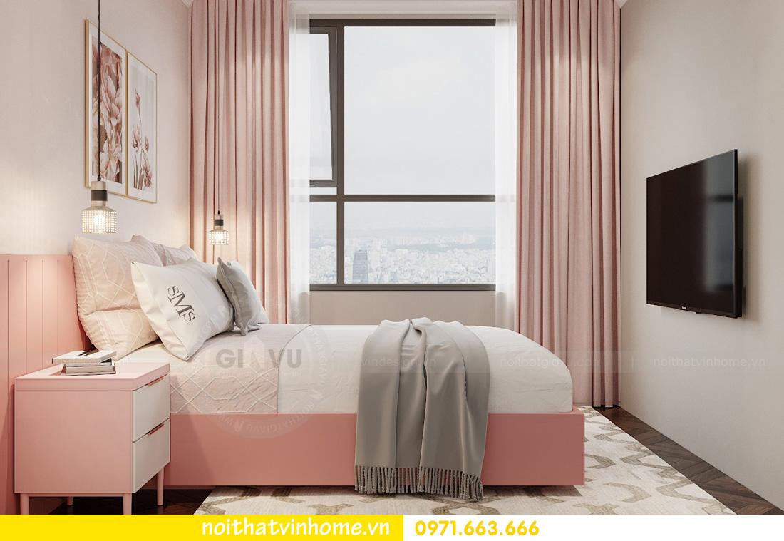 thiết kế nội thất chung cư Vinhomes West Point tòa w3 căn 05A anh Hà 11