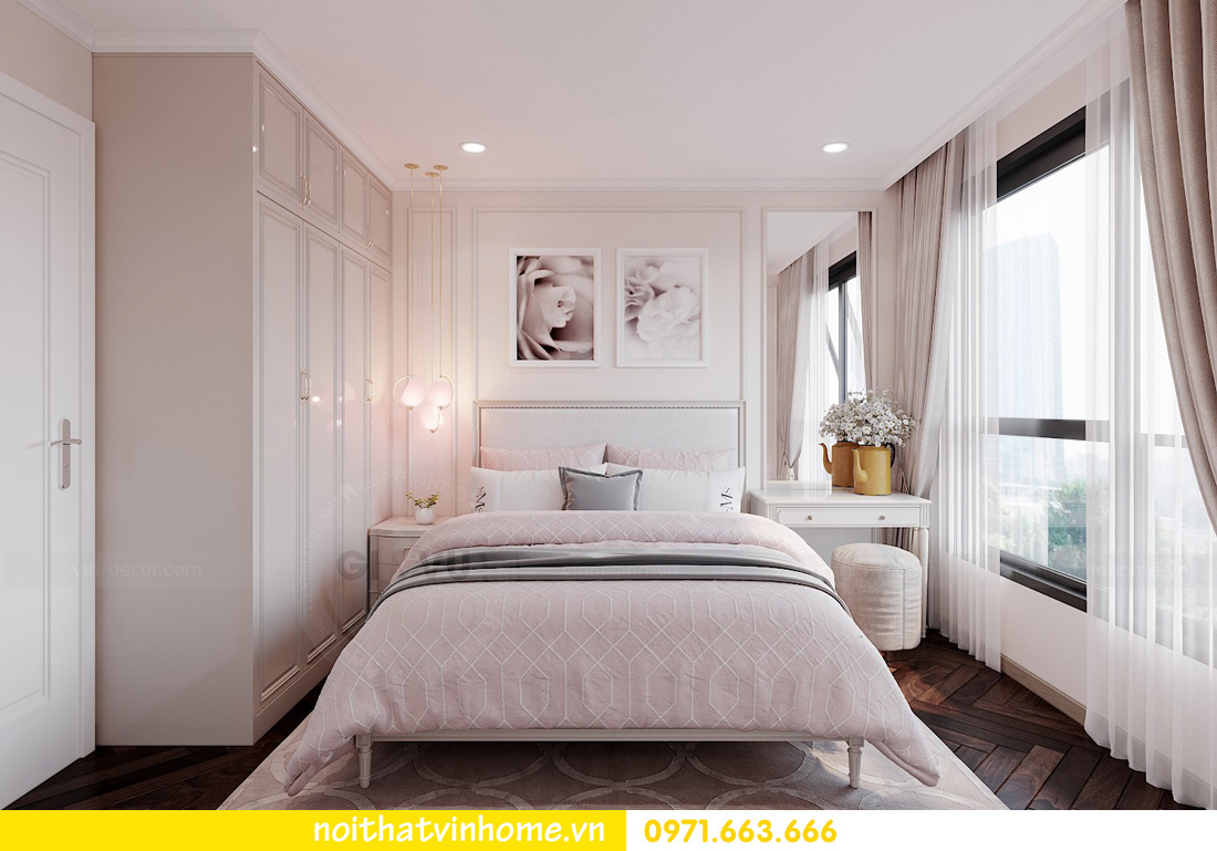 thiết kế nội thất Vinhomes West Point tòa W1 căn 05 nhà chị My 10