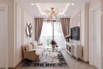 thiết kế nội thất Vinhomes West Point tòa W1 căn 05 nhà chị My