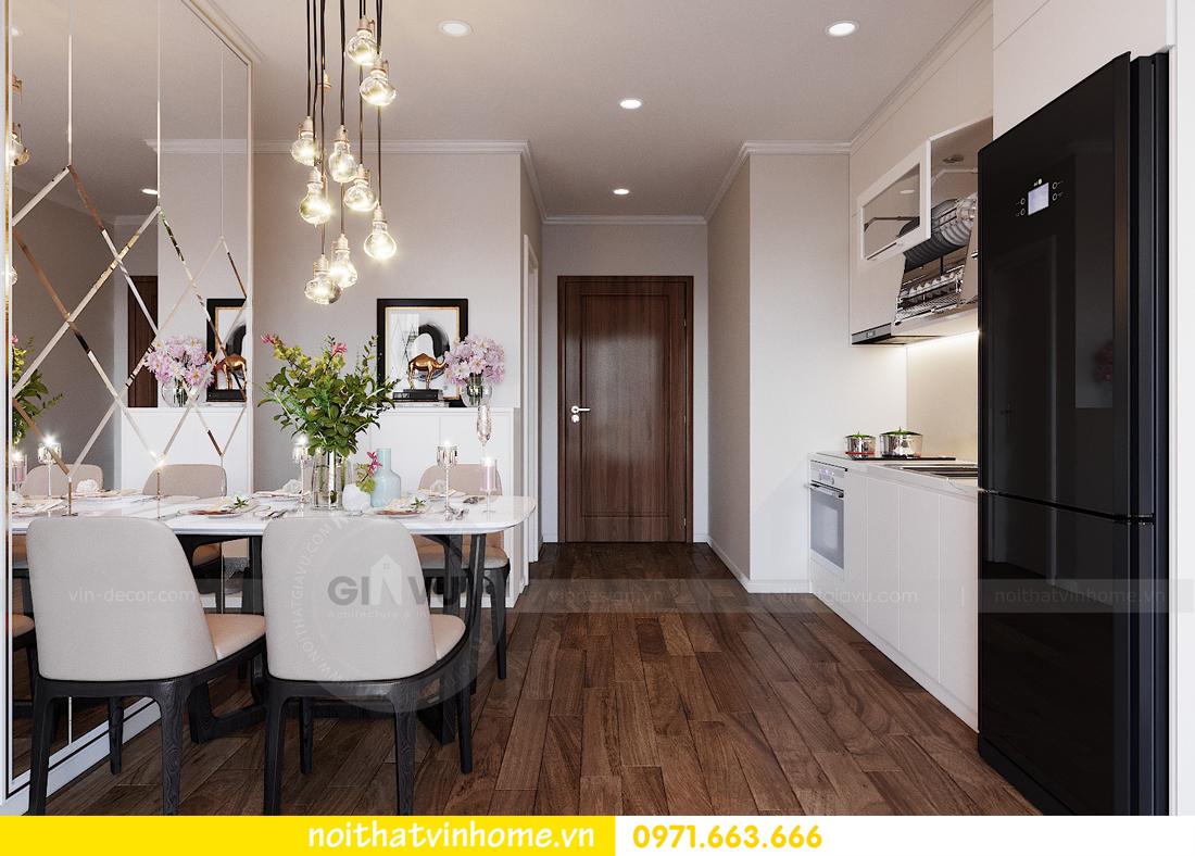 thiết kế nội thất căn hộ chung cư West Point tòa W3 căn 08 1