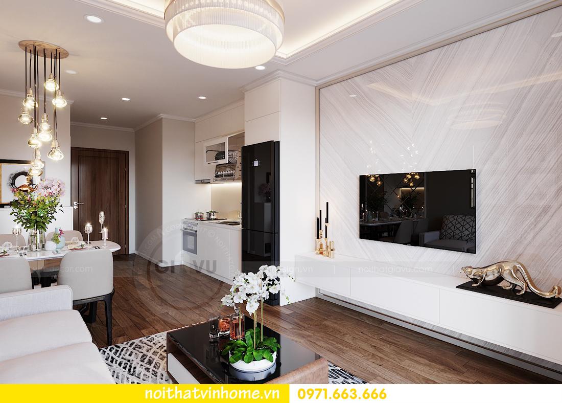 thiết kế nội thất căn hộ chung cư West Point tòa W3 căn 08 2