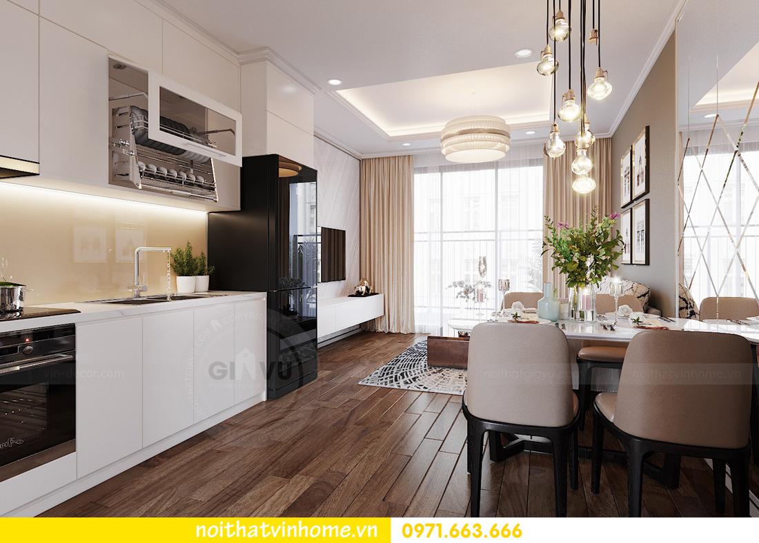 thiết kế nội thất căn hộ chung cư West Point tòa W3 căn 08 3