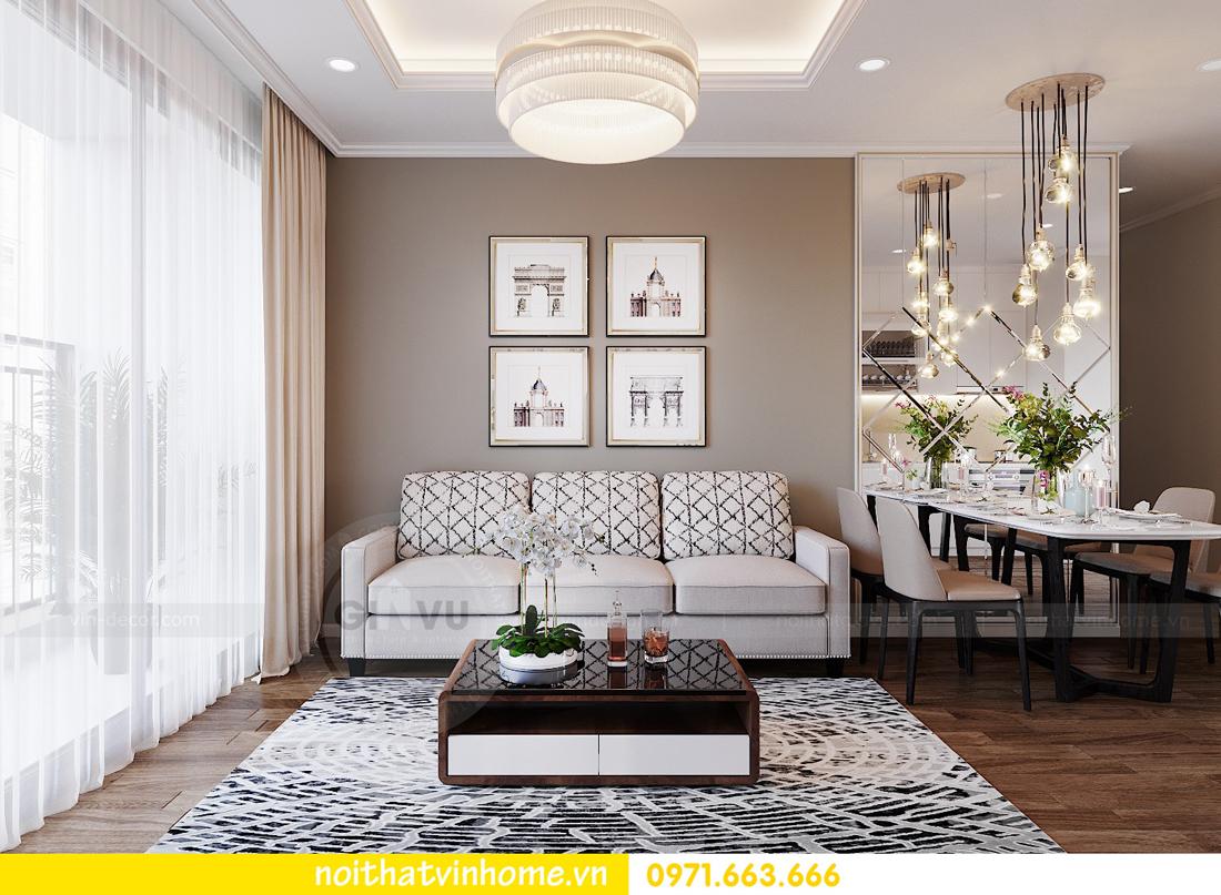 thiết kế nội thất căn hộ chung cư West Point tòa W3 căn 08 5