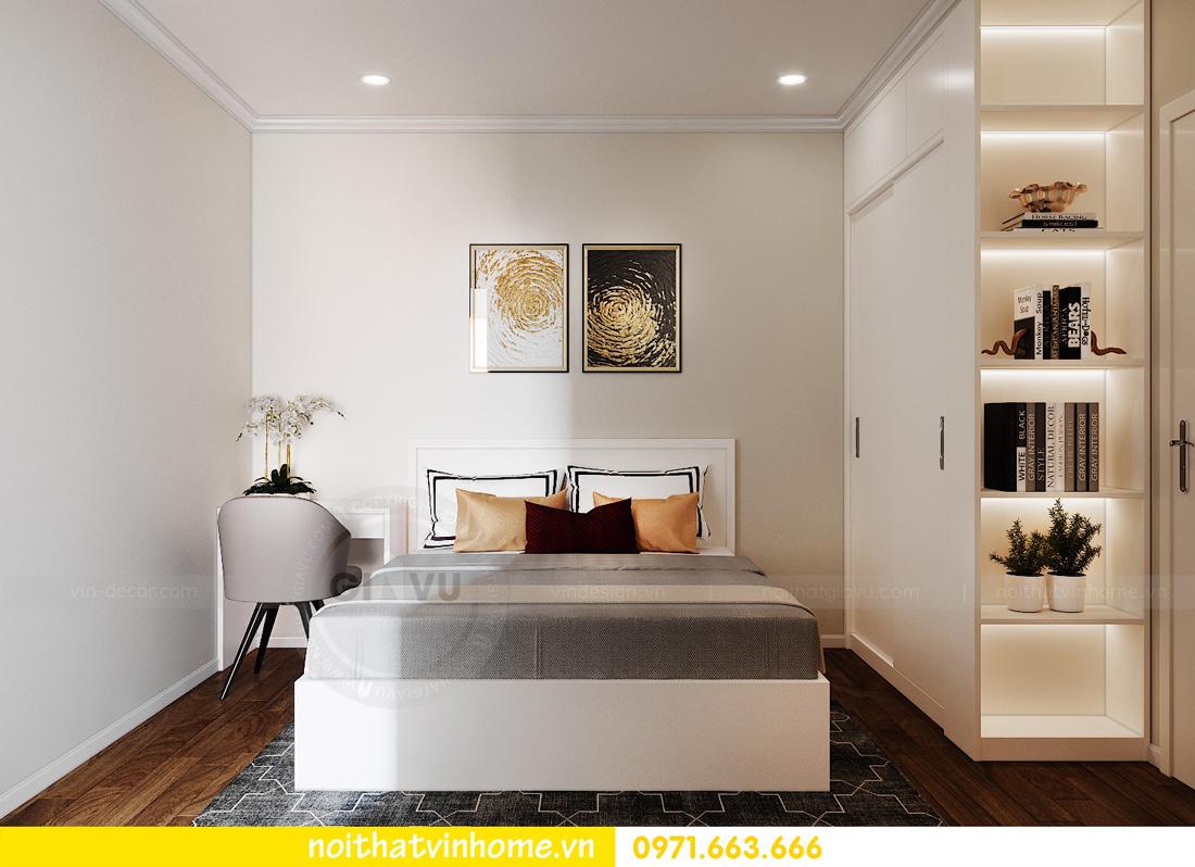 thiết kế nội thất căn hộ chung cư West Point tòa W3 căn 08 9
