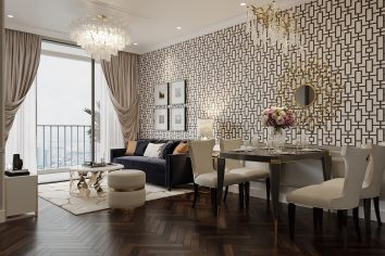 thiết kế nội thất chung cư West Point tòa W3 căn 12 anh Khang
