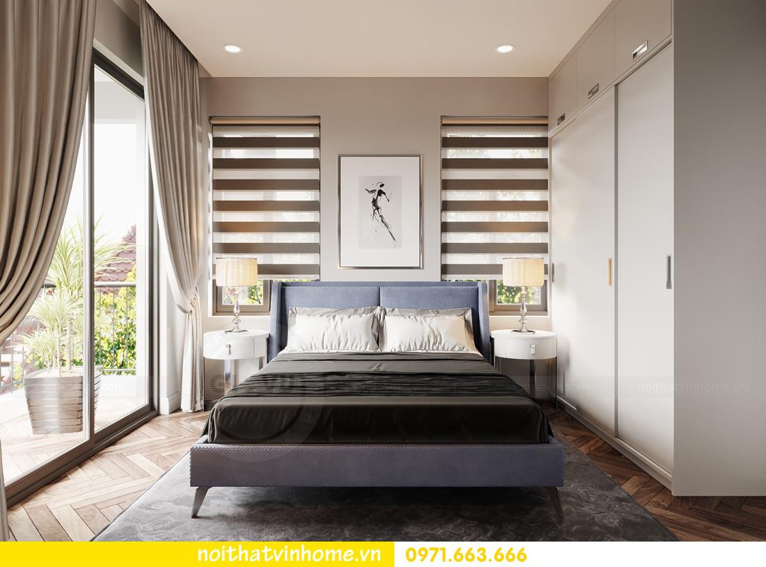 thiết kế nội thất biệt thự Vinhomes Ocean Park hiện đại 14