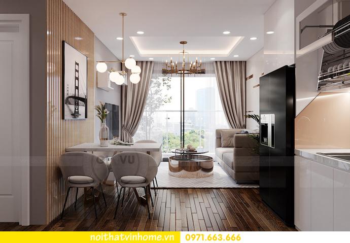 mẫu thiết kế nội thất chung cư West Point tòa W2 căn 11A 1
