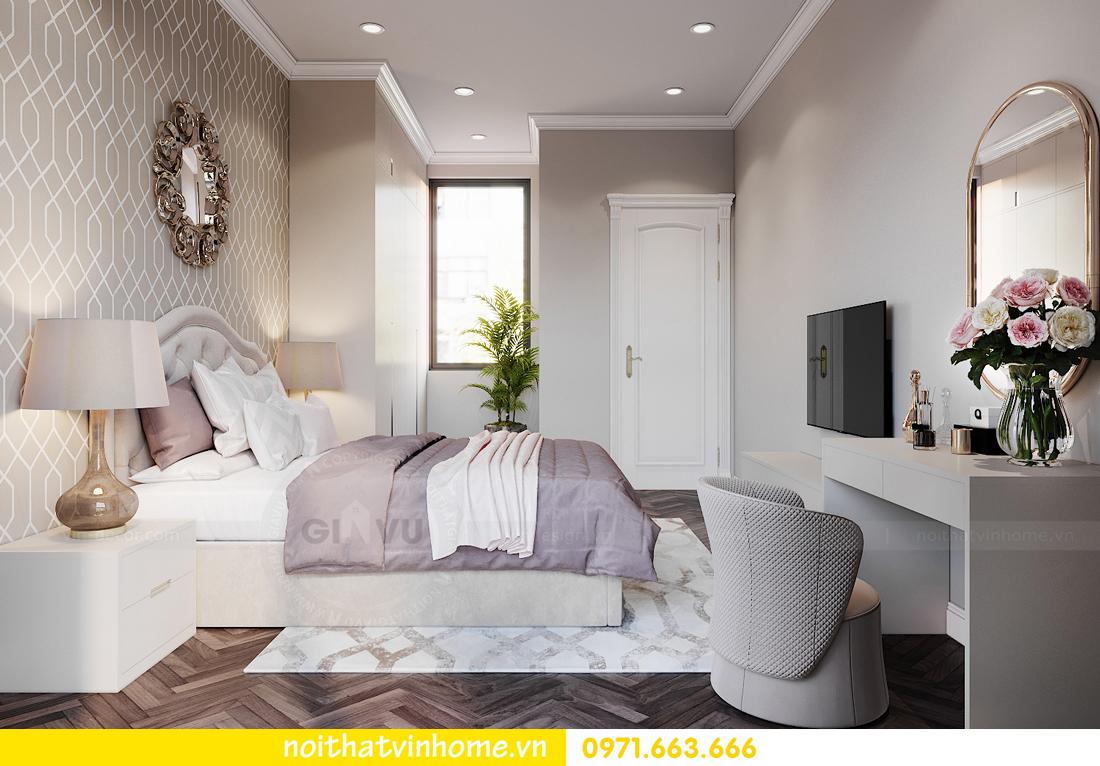 thiết kế thi công nội thất biệt thự liền kề Vinhomes OCean Park 10