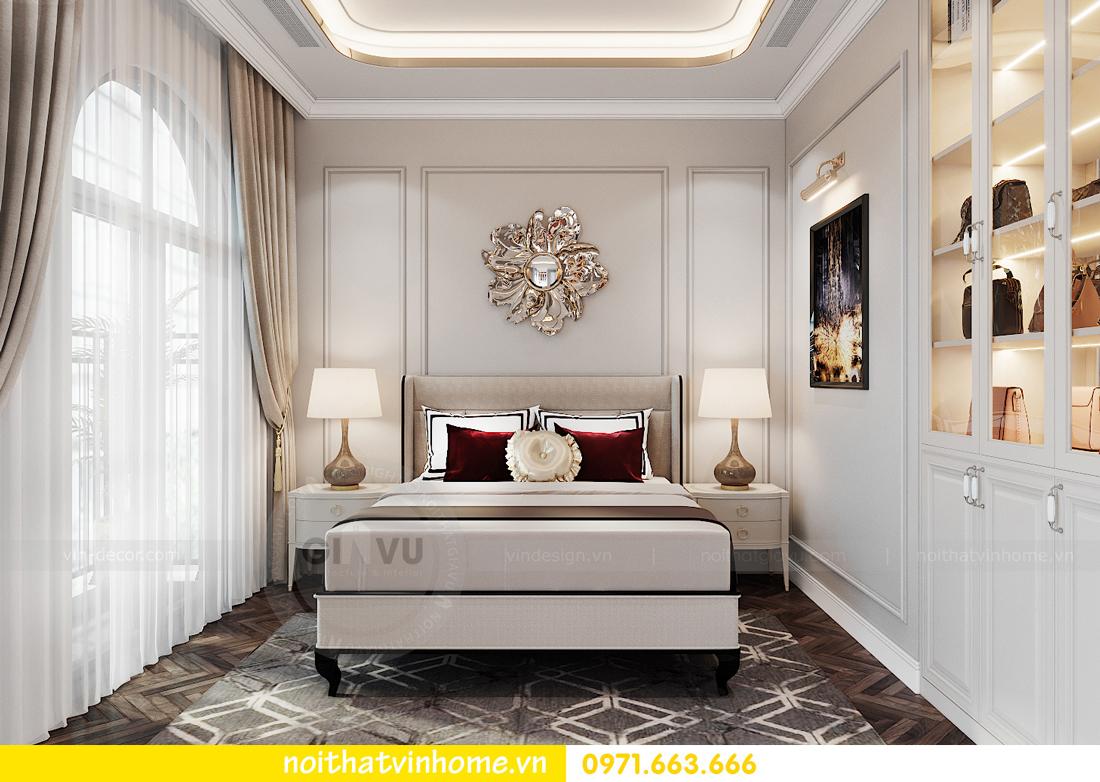 thiết kế thi công nội thất biệt thự liền kề Vinhomes OCean Park 12