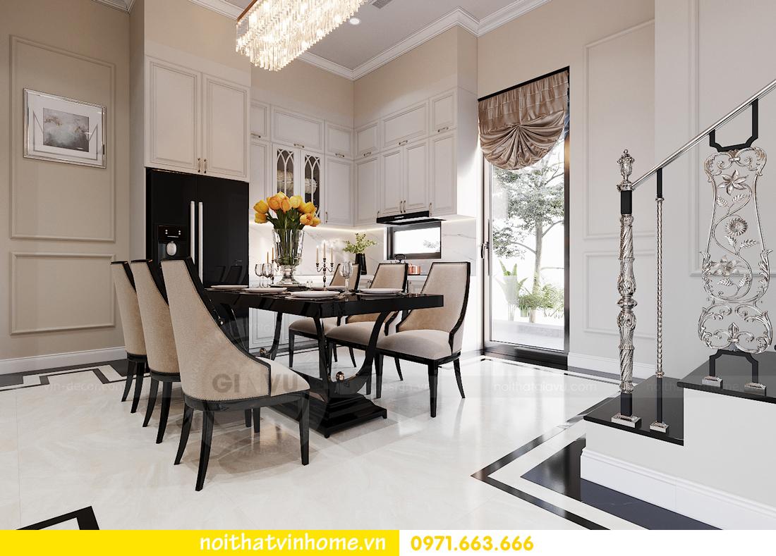 thiết kế thi công nội thất biệt thự liền kề Vinhomes OCean Park 3