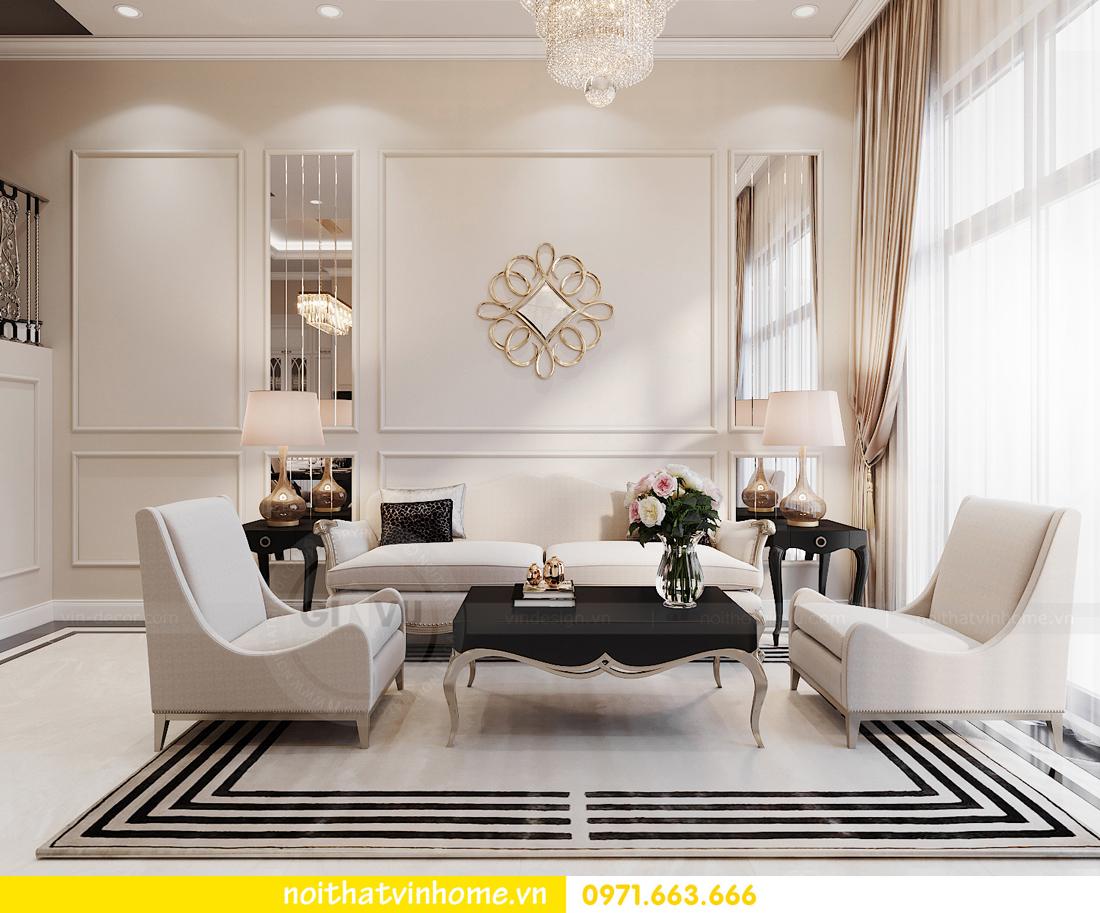 thiết kế thi công nội thất biệt thự liền kề Vinhomes OCean Park 5