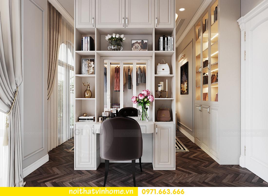 thiết kế thi công nội thất biệt thự liền kề Vinhomes OCean Park 7